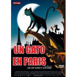 Un gato en Paris