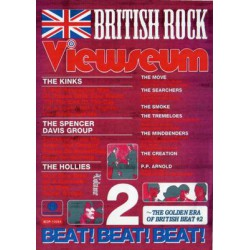 BRITHISH ROCK VIEWSEUM DVD 2