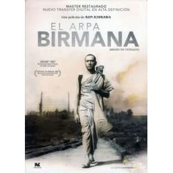 El arpa birmana
